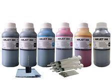 6x250ml Refill ink for Canon PGI-270 CLI-271 PIXMA MG7700 TS8020 TS9020 1p5d gy