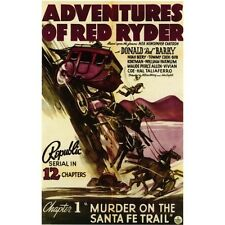 "The Adventures of Red Ryder - Cliffhanger Movie Serial DVD Don ""Red"" Barry"