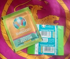 Bustina sigillata Panini EURO 2020 versione LIDL verde - LIDL green -  packet