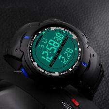 Reloj Hombre Deportivo Digital Resistente Al Agua Fecha Alarma LED Cuarzo