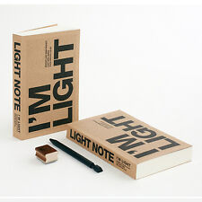 Uniq I'm Light Portable Handy Ver. Recycled Kraft Paper Journal Notebook Blank