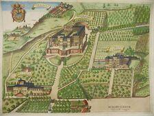 VILLA MONDRAGONE VILLE TUSCOLANE BORGHESE FRASCATI KOL KUPFERSTICH KIRCHNER 1671