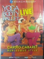 Yoga Booty Ballet - Cardio Cabaret Burlesque Style (DVD, 2005)