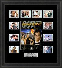 James Bond Licence to Kill Framed 35mm Film Cell Memorabilia Filmcells Movie