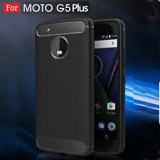Tough Carbon Fiber Shockproof Case Cover For Moto C E4 G4 G5S plus Z Z2 Play X4