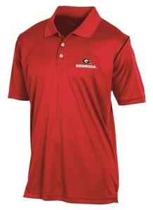 "Georgia Bulldogs Champion NCAA ""Playclock"" Performance Polo Shirt"