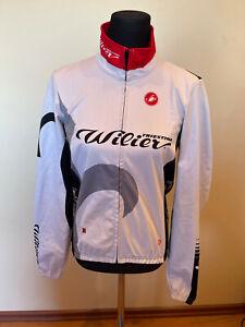 Brand New Original Castelli Wilier Cycling Warmer Jacket LONG SLEEVES SIZE L Men
