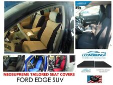 Ford EDGE SUV Coverking Custom Tailored Front & Rear Neosupreme Seat Covers