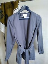 H&M Conscious Robe style jacket/blazer/home appearal in smoky grey, size 36