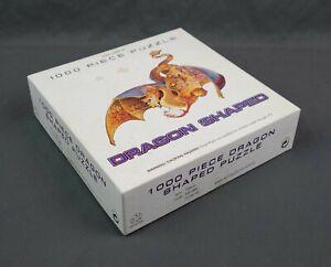 Vintage FX Schmid Fire Dragon Shaped 1000 Piece Die-cut Puzzle
