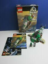 BOXED lego 7144 complete STAR WARS SLAVE 1 VINTAGE set BOBA FETT MINIFIGURE