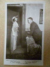 Vintage Theatre Postcard- KATE CUTLER & ARTHUR BOURCHIER in THE FIRE SCREEN