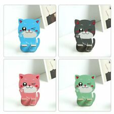 Wooden Mobile Phone Holder Cute Cartoon Cat Stand Holder Cell Phone Stand WF