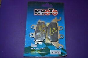 Kyoto S1989 FA377 Disco Freno Posteriore Pastiglie per Yamaha Yzf-R 125 2008 -