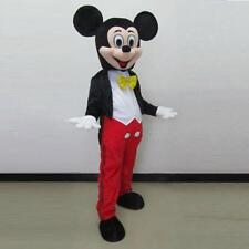 Top sale Disney Mickey Mouse Mascot Costume Xmas Cosplay Clothes party Adult New