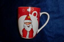 Kaffeebecher Weihnachtsmann aus Porzellan Design by VILLA Noblesse