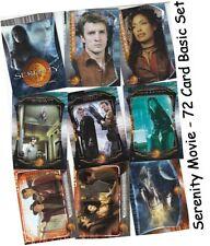 Serenity The Movie - 72 Card Basic/Base Set - Inkworks 2005