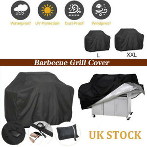 Waterproof BBQ Covers Heavy Duty Patio Barbecue Grill Garden Outdoor Protector