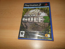 OUTLAW GOLF 2 ( SONY PLAYSTATION 2 , PAL NUEVO PRECINTADO