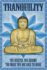 TRANQUILITY PEACE POSTER (61x91cm) BUDDHA QUOTE MOTIVATIONAL PICTURE PRINT NEW