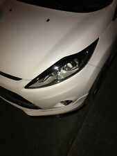 Ford Fiesta Mk7 Pre Facelift Eyebrows Light Brows Show Stance Static