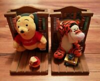 Disney Bookend Buddies Pooh & Tigger with books attached. Lovely condition