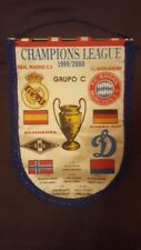 Wimpel FC BAYERN MÜNCHEN CL 1999-2000 Gruppe C mit Real Madrid, Trondheim, Kiev