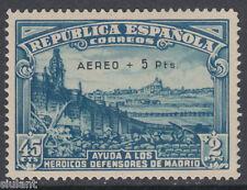 DEFENSA MADRID - ** 759 - AÑO 1938 - CERTIFICADO AUTENTICIDAD - POSICIÓN 22 LUJO