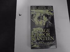 Stage Door Canteen VHS/EP 1999 Collectors Edition Katharine Hepburn Harpo Marx