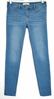 NEW Hollister SUPER SKINNY Blue Low Rise Stretch JEGGING Jeans Size 12 W30 L31