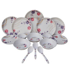 Melamine Dinner set - Czar 24 PIC Dinner set-1004 Multi Color with Free Shipping