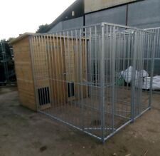 RHT Kennels, double burley dog kennel and run 2m x 3m