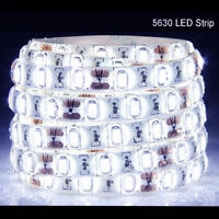 5M 300Leds 5630 SMD Super Bright Cool White LED Strip Light Waterproof 12V DC US