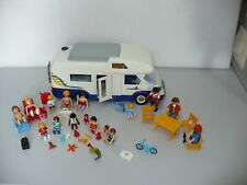 Playmobil Camper Van with lots of figures and accessories