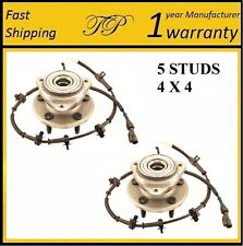 2000-2002 MAZDA B4000 (4WD, 4W ABS) Front Wheel Hub Bearing Assembly PAIR