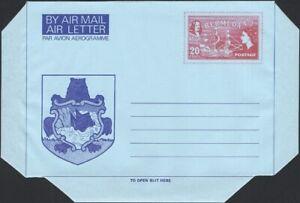 BERMUDA, 1979. Aerogramme QEII H&G 12,  Mint