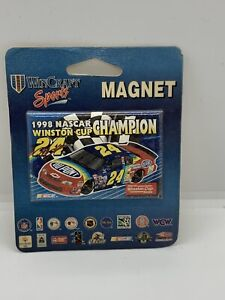 #1998 Nascar Winston Cup Champion  #24 Jeff Gordon Magnet New With Card
