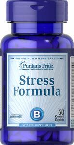 Puritans Pride Stress Formula Vitamin B C E Supplement