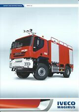 Fire Equipment Brochure - Iveco Magirus - Impact x4 - Airport Use  (DB235)