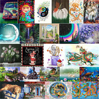 5D DIY Full Drill Diamond Painting Cross Stitch Embroidery Mosaic Home Decor Kit