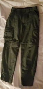 BSA Boy Scouts of America*Convertible Uniform Pants*Canvas*Shorts* YOUTH 12