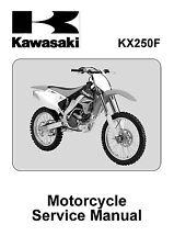 Kawasaki service manual 2006 KX250F (KX250T6F) / 2007 KX250F (KX250T7F)