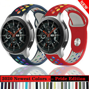 Sport Silicone Band Bracelet Wrist Strap For Samsung Galaxy Watch 3 45mm 41mm