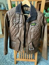 barbour waxed jacket womens size 6