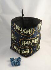 Cuadrado dado Bolsa Bolsa de Algodón Reversible-Harry Potter-Azulejo-bolsa del lazo