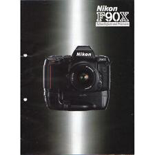 Nikon f90x * folleto