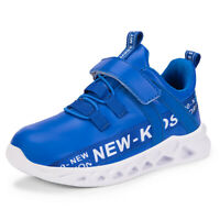 Kids Boys Girls Running  Athletic Sneakers Comfortable Outdoor Mesh Sports Shoes
