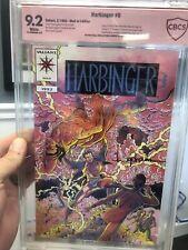 1992 HARBINGER #0 CBCS 9.2 VER SIGS LAYTON & LAPHAM