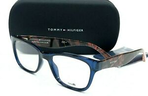 New Authentic TOMMY HILFIGER TH1498 VDN Blue 51/18/140 Eyeglasses