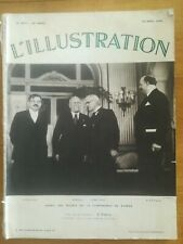 L'ILLUSTRATION 1935 N°4807 Laval Mussolini Mac Donald Flandin - Stresa
